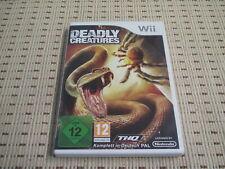 Deadly Creatures für Nintendo Wii und Wii U *OVP*