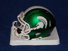 Michigan State Spartans NCAA Football Speed MINI HELMET with VISOR ATTACHED