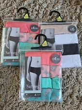 Nutmeg Mixed Womens Underwear Size 12/14 (3packs)