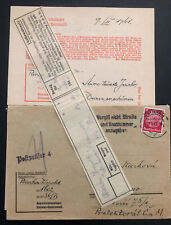 1941 Germany Buchenwald Concentration Camp Cover Leopold Pliczka W Letter