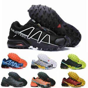 Herren Salomon Speedcross 4 Outdoorschuhe Laufschuhe bequemer WanderSchuhe Schuh