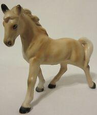 RARE! Vintage Victoria Ceramics Made in Japan Beige Horse Stallion 1950s Collect