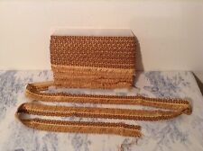 Vintage French Passementerie Braid Fringe Trim Trimming ~ 15m - NOS