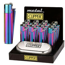 1x Mechero Metal Clipper Icy Color (CMP11R)