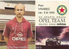 Peter Vrabec Sparta Prag AK 80er Jahre Original Signiert TOP +A33886