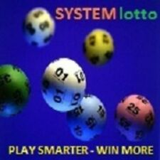 LOTTO SYSTEM 8 FOR PICK 6 NUMBER GAMES - PLAY LOTTO SMARTER & WIN LOTTO MORE