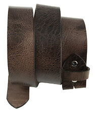Western Speicher Gürtel Leder  Wechselgürtel  City  Antik Braun 85cm - 125cm