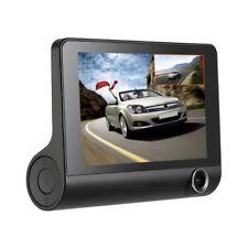 "USUS Car DVR Camera 170° Parking Video Recorder 4"" HD 1080P 3 Lens Dash Cam Rear"