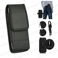 "Belt Clip Carrying Cover Case Pouch For 5.5"" Apple iPhone 8 7 6S 6 Plus Black"