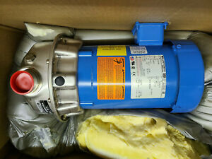 """NEW Goulds 2ST1F9E4 Stainless Pump 1.5HP 3PH 1.5"""" NPT Out 1.25NPT In"""