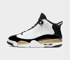 Men's Air Jordan Retro Dub Zero Off-Court Black Metallic Gold White 311046-005