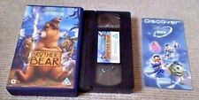 Brother Bear Disney UK VHS VIDEO 2004 Rick Moranis Joaquin Phoenix Phil Collins