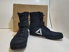 Reebok Buck Boxing Boots Black Mens Us 10.5