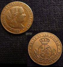 *GUTSE*561-ISABEL II, 1/2 CÉNTIMO DE ESCUDO 1868, JUBIA, EBC+