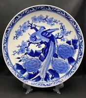 Vintage China Porcelain Hand Painted Kewpie Christmas Plate signed by Artist Binet 1970\u2019s