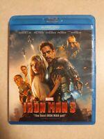 Iron Man 3 (Blu-ray/DVD, 2013, 2-Disc Set)