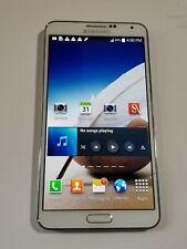 Samsung Galaxy Note 3-N900A-32GB -White - AT&T Unlocked - LightScrnBurn - AG224