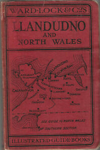 WARD LOCK RED GUIDE - LLANDUDNO & NORTH WALES (NORTHERN) - 1932/33 - 10th edit.