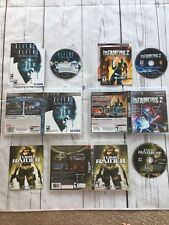 PS3 Aliens Colonial Marines, Infamous 2, Tomb Raider Underworld