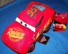 DISNEY LIGHTNING McQUEEN CAR SOFT TOY PLUSH - BRAND NEW WITH TAGS - HARD TO FIND