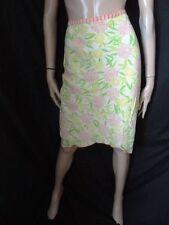 (AP229) Size 10 *QUIKSILVER* Pretty green print flippy skirt ladies/womens