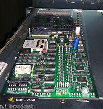 Probel / Snell & Wilcox Morpheus mor-2330 controller cards