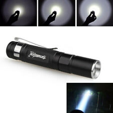 3000LM CREE XPE LED Single Mode Zoomable LED Penlight Lamp Torch AAA Flashlight