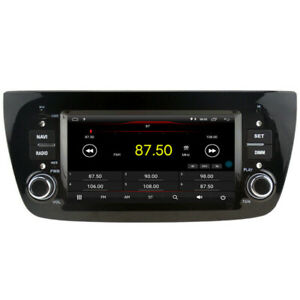 "Navi Car GPS Radio Player for Fiat Doblo 2010-2015 6.2"" Android 10 Dab Carplay"