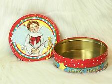 "Mary Engelbreit Metal Tin ""Hark! Harold the Angel Sings"" Christmas Choir Sing"