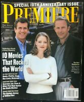 PREMIERE Magazine October 1997 MEL GIBSON / Kevin Costner / Jodie Foster