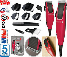 Remington Mens Apprentice Hair Clipper Electric Corded Shaver 10pc Kit - HC5018