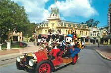 Disneyland Mickey Mouse & Minnie car postcard disney characters