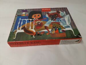 48 Pieces Wooden Doll - Red Cap - Otto Maier Verlag Ravensburger - Rarity