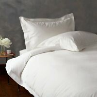 Premium Bedding Duvet Set + Sheet Set White Solid All Sizes 1000 TC Egypt Cotton