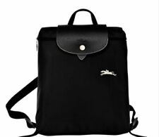 Authentic 1699 Longchamp Le Pliage Club Backpack with Horse Embroidery Large