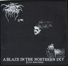 Darkthrone ' A Blaze in the Northern Sky ' Woven Patch