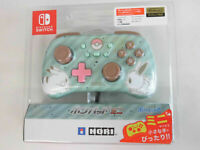 Hori Pad Mini Controller for Nintendo Switch Super Pikachu & Eevee Japan NEW F/S