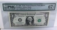 RARE *Web Note* 1995 *Blazing PMG *67* AC 1/10 SCARCE LOOK  - FREE Shipping