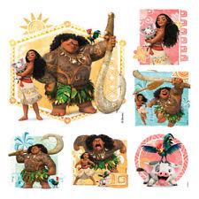 20 Disney Moana Stickers Party Favors Teacher Supply - Maui - Hei Hei