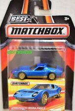 MATCHBOX BEST OF MATCHBOX 2017 LAMBORGHINI MIURA P400 S