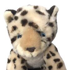 "Build A Bear Baby Panther Blue Eyes RARE HTF 14"" Stuffed Animal Plush Toy 2011"