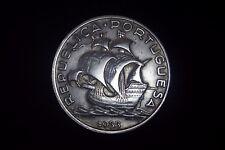 10$00 Escudos - 1933 - Silver - Portugal - Scarce