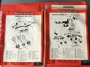 TRIANG SERVICE SHEETS  NOV 1955 No 2 - 98 JUNE 1974  86 ORIGINAL SHEETS.