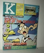 RIVISTA K ANNO 5 NUMERO 7-8 LUGLIO/AGOSTO 1993 USATA EDIZIONE ITALIANA VBC 46583