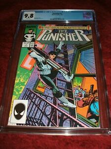 PUNISHER 1 CGC 9.8 WHITE PAGES 1987