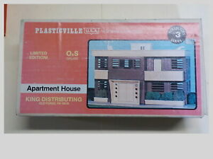 O/S Gauge Plasticville Limited Edition  Apartment House #500 With Original Box