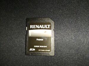 sd card gps renault TOMTOM Rlink france 7610 R