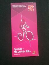 LONDON 2012 OLYMPIC GAMES CYCLING-MOUNTAIN BIKE OFFICIAL GUIDE , HADLEIGH FARM