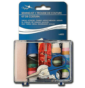 Portable Mini Sewing Kits for Adults, Kids, Traveler, Beginner, Emergency 10pc