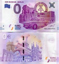 DDR MUSEUM BERLIN Germany 0 Euro Souvenir Note 2017 Series 2 TRABANT Collectors